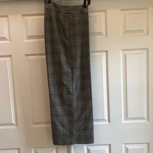 Ashley Stuart women's plaid business casual slacks